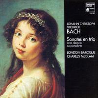 BACH, J.C.F.: Trio Sonatas (London Baroque, Medlam)