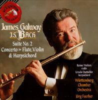 BACH, J.S.: Overture (Suite) No. 2 / Flute Concerto (after BWV 1032) / Concerto for Flute, Violin and Harpsichord, BWV 1044 (Galway, Faerber)