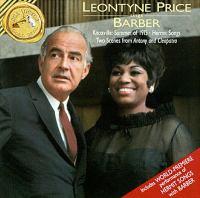BARBER, S.: Vocal Music (L. Price)