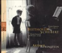 BEETHOVEN, L. Van: Piano Sonata No. 3 / SCHUBERT, F.: Piano Sonata No. 21 (Rubinstein Collection, Vol. 55)