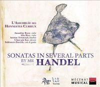 HANDEL, G.F.: Sonatas in Several Parts - Trio Sonatas, HWV 386a, 389, 393 / Violin Sonata, HWV 359a (L'Assemblee Des Honnestes Curieux, Beyer)