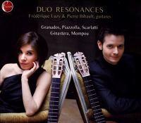 Guitar Duo Recital: Duo Resonances - GRANADOS, E. / PIAZZOLLA, A. / SCARLATTI, D. / GINASTERA, A. / MOMPOU, F