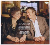 BRAHMS, J.: 18 Liebeslieder Walzer / Hungarian Dances (version for Piano 4 Hands) (Berezovsky, Engerer)