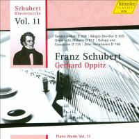 SCHUBERT, F.: Piano Works, Vol. 11 (Oppitz) - Piano Sonata No. 19 / Galop and 8 Ecossaises / 10 Variations, D. 156
