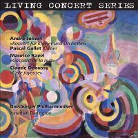 LIVING CONCERT SERIES - JOLIVET, A. / RAVEL, M. / DEBUSSY, C.: Orchestral Music (Duisburger Philharmoniker, Darlington)