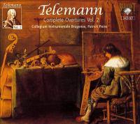 TELEMANN, G.P.: Overtures (Complete), Vol. 2 (Collegium Instrumentale Brugense, Peire)