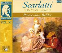 SCARLATTI, D.: Keyboard Sonatas (Complete), Vol. 11 - K.476-591 (Belder)