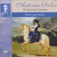 SOLER, A.: Keyboard Sonatas, Vol. 4 (Belder)