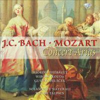 BACH, J.C. / MOZART, W.A.: Concert Arias (Hiroko Kouda, Hjordis Thebault, Beláček, Solamente Naturali, Talpain)