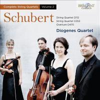 SCHUBERT, F.: String Quartets, Vol. 2 (Diogenes Quartet)
