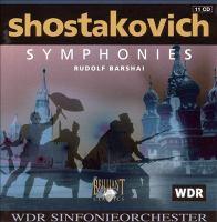 SHOSTAKOVICH, D.: Symphonies (West German Radio Symphony, Barshai)