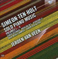 HOLT, S. Ten: Piano Music, Vols. 1-5