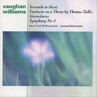 VAUGHAN WILLIAMS, R.: Symphony No. 4 / Fantasia on A Theme by Thomas Tallis / Fantasia on Greensleeves (New York Philharmonic, Bernstein)