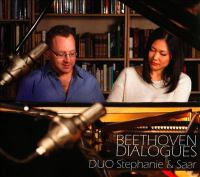 BEETHOVEN, L. Van: String Quartets, Op. 18, Nos. 1, 4 and 6 (arr. H. Ulrich and R. Wittmann) (Beethoven Dialogues) (Duo Stephanie and Saar)