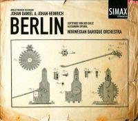 BERLIN, J.D. / BERLIN, J.H.: Sinfonias (Opsahl, Goltz, Norwegian Baroque Orchestra)