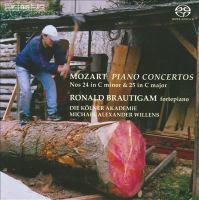 MOZART, W.A.: Piano Concertos Nos. 24 and 25 (Brautigam, Kolner Akademie, Willens)
