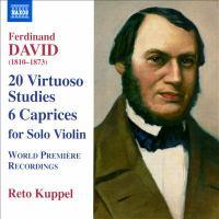 DAVID, F.: 20 Virtuoso Studies / 6 Caprices, Op. 9 (Kuppel)