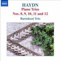 HAYDN, J.: Piano Trios, Vol. 4 (Bartolozzi Trio) - Nos. 8-12