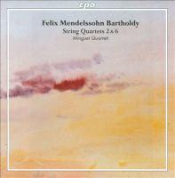 MENDELSSOHN, F.: String Quartets, Vol. 1 (Minguet Quartet) - Nos. 2 and 6