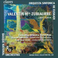 ZUBIAURRE, V.M. De: Sinfonia in E Major / Fernando El Emplazado / Ecos De Oiz (Basque Music Collection, Vol. 13) (Basque National Orchestra Ocón)
