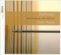 BEETHOVEN, L. Van: Piano Sonatas Nos. 30-32 (Pescia)
