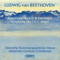 BEETHOVEN, L. Van: Symphonies Nos. 1 and 4 (Neuss German Chamber Philharmonic, Goritzki)