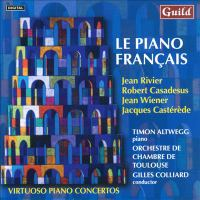 Piano Recital: Altwegg, Timon - RIVIER, J. / CASADESUS, R. / WIENER, J. / CASTÉRÈDE, J. (Le Piano Français)