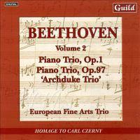 "BEETHOVEN, L. Van: Piano Trios, Vol. 2 - Nos. 3 and 7, ""Archduke"" (European Fine Arts Trio)"