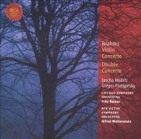 BRAHMS, J.: Violin Concerto / Double Concerto  (Heifetz, Piatigorsky, Reiner, Wallenstein)