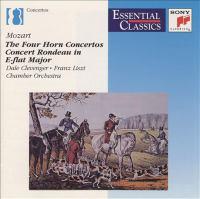MOZART, W.A.: Horn Concertos Nos. 1-4 / MOZART, L.: Sinfonia Pastorale (Clevenger, Franz Liszt Chamber Orchestra, Rolla)