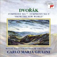 """DVOŘÁK, A.: Symphonies Nos. 7 and 9, """"From the New World"""" (Royal Concertgebouw Orchestra, Giulini)"""