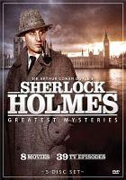 Sir Arthur Conan Doyle's Sherlock Holmes Greatest Mysteries