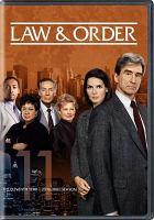 Law & order. Season 11, 2000-2001