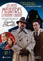 Les petits meurtres, d'Agatha Christie. Set 1.