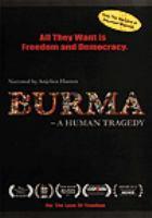 Burma a human tragedy