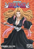 Bleach. DVD set seventeen, Episodes 243-255