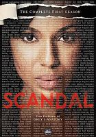 Scandal. The complete first season