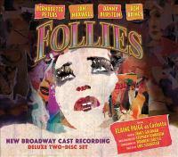 Follies new Broadway cast recording