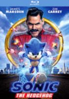 Sonic the Hedgehog(Blu-ray,Jim Carrey)