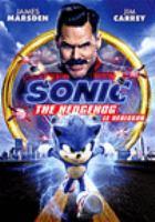 Sonic the Hedgehog(DVD,Jim Carrey)
