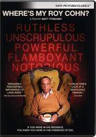 Where's My Roy Cohn?(DVD)