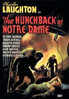 The Hunchback of Notre Dame(DVD,Charles Laughton)