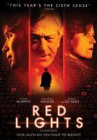 Red Lights(DVD,Robert De Niro)