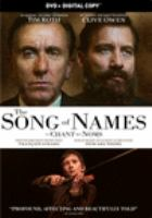 The Song of Names(DVD)