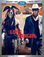 The Lone Ranger(Blu-ray,Johnny Depp)