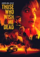 Those Who Wish Me Dead(DVD)