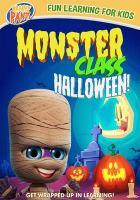 Monster class. Halloween