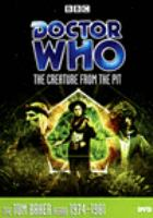 Doctor Who. The creature from the pit