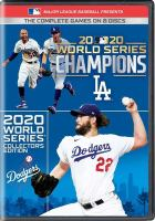 2020 World Series Champions