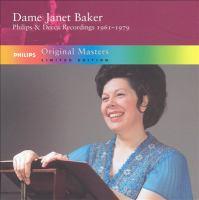 BAKER, Janet: Philips and Decca Recordings (1961-1979)
